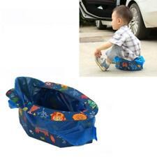 Foldable Child Kids Portable Potty Seat Boys Girls Baby Travel Toilet Emergency