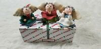 3 Angels Ornament Set - House of Lloyd Christmas Around the World - NEW
