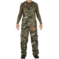 Mossy Oak Cotton Mill 2.0 Camo Hunt Bibs, Uninsulated Camo overalls for Men
