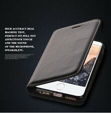 For iPhone 8 7 7 Plus Luxury Slim Leather Cover Wallet Card Case for Apple