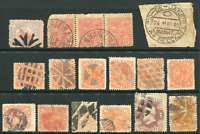 BRAZIL (21322) early cork/fancy cancels etc