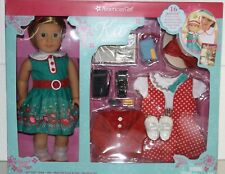NEW AMERICAN GIRL Doll KIT KITTREDGE Special Ed Holiday 16PC Set TODAY