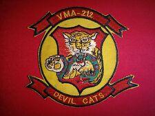 Korea War (1950-1953) US Marines VMA-212 DEVIL CATS Patch