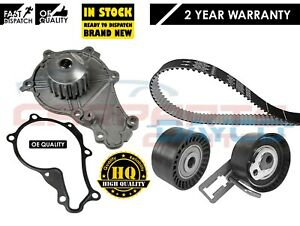 FOR VOLVO C30 S40 V50 V60 V70 1.6 D2 2010-2015 TIMING CAM BELT & WATER PUMP KIT