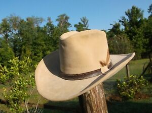 RARE COLLECTIBLE Smokey and the Bandit ll Hat  Stetson Medium FITS ABOUT A 71/8