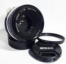 MINT NIKON NIKKOR 50mm f/1.8 Ai Manual Prime Standard Longnose Lens