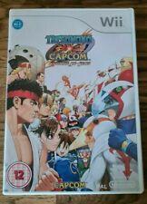 Tatsunoko vs Capcom Ultimate All Stars Nintendo Wii Game Complete