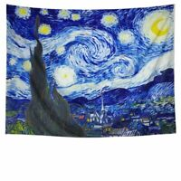 """Nice Tapestry- Beautiful Starry Starry Night 59"""" x 79"""" Decorative Wall Hanging"""