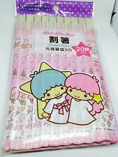 Cute!!! Disposable Chopsticks 20 Pairs Sanrio Little Twin Stars from japan F/S!!