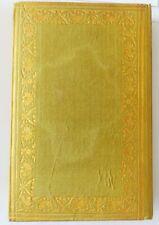 Almanach dédiée aux demoiselles vers 1820 cartonnage de soie moirée