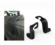2 Pair Car Back Seat Headrest Hanger Holder Hooks For Bag Purse Cloth Grocery