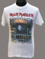 Iron Maiden Official Vintage Shirt Somewhere on Tour Europe 1987