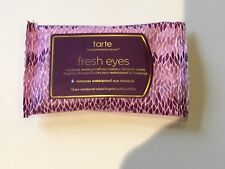 Tarte Fresh Eyes Maracuja Waterproof Eye Makeup Remover Wipes (10) Travel Size