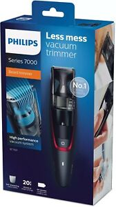 Philips BT7500 Series 7000 Cordless Beard Trimmer/Remover Rechargeable/Vacuum