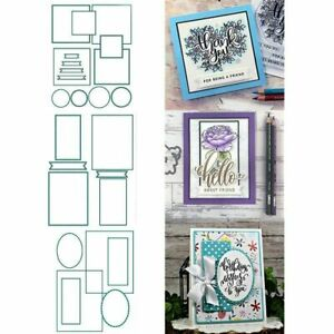 Master Layouts Metal Cutting Dies Front Panels Scrapbooking Templates Crafts