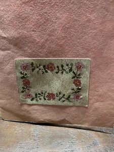 Marny's Miniature Knotted Rug Kit   Flowers With Floss Included