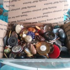 Huge lot of Mixed Buttons! Over 300 Vintage Antique Buttons