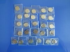 More details for complete set of a-z alphabet 10p coin ten pence 2018 coins mostly mint