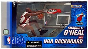 McFarlane Toys NBA Miami Heat Sports Picks Shaquille O'Neal Deluxe Action Figure