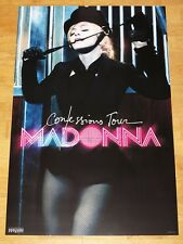 MADONNA PROMO CONFESSIONS TOUR POSTER FETISH LEATHER ORIGINAL VINTAGE in MINT