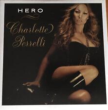 CD SINGLE EUROVISION SWEDEN 2008 CHARLOTTE PERELLI HERO + INSTRUMENTAL VERSION