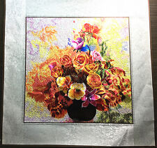 Beautiful Handmade Finished Embroidery of Flowers (1C)