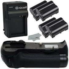 NX-NBGD600-4BATT-MF-CH Battery Grip for Nikon D610 D600 DSLR (Nikon MB-D14)