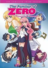 The Familiar Of Zero . Season 3 . Rondo Of Princesses . Anime . 2 DVD . NEU OVP