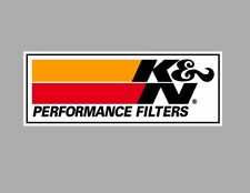 K&N Filter decal RACING RALLY NASCAR DECAL sticker