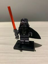 Star Wars DARTH VADER Custom Chrome Brick Lego Compatible MiniFigure UK ship!