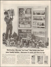 1963 Vintage ad for Kelvinator refrigerator`retro appliance photo Boy   (041018)
