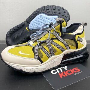 New Mens Nike Air Max 270 Bowfin Sz 13 Yellow Cream Black Shoes AJ7200 300