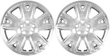 """(2) 2013 FORD ESCAPE 17"""" CHROME HUBCAPS / WHEEL COVERS IWC471-17C"""