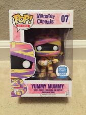 Funko Pop Yummy Mummy Monster Cereals Ad Icons In Hand Sold Out. LE 2500 Only