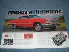 "1963 Impala SS Restomod Article ""Friends with Benefits"" Aluminum 409 Engine"