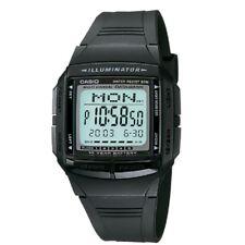 Casio DB-36-1AV Mens Multilingual Digital Databank Watch with Casio Box