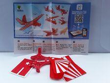 NEU!!!  Kleine Flieger  SE568A Flieger rot  +  BPZ  ( Indien )