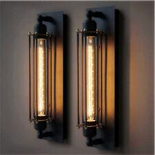 Retro Industrial Vintage Rustic Wall Long Light Bar Lamp Sconce Fixture Decor 3