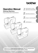 Brother CE1100 Sewing Machine Owners Instruction Manual Reprint