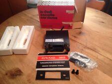 Vintage Craig In Dash Cassette Car Stereo Model 3513