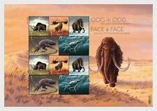 Belgium- 2018-  Prehistorical Animals - Miniature Sheet