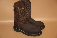 #25 Cody James Comp Toe Western Work Boots Size 9 D