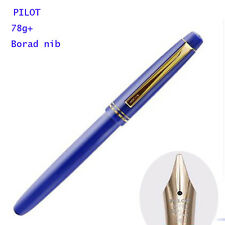 2017 Pilot 78G+ Fountain Pen Screw Cap Broad Nib Blue Classic Pen