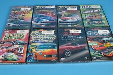 8 Full Throttle automotive DVD's Mopar Madness Mustang Mystique Tuner Transform