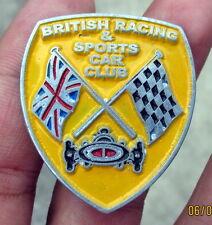 VINTAGE BRITISH RACING & SPORTS CAR CLUB PIN PARTS mini cooper MORRIS
