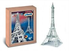 Deluxe Eiffel Tower Eitech C33 Metal Building Construction Toy Steel Model