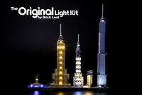 LED Lighting Kit for LEGO ® Architecture Skyline Collection New York 21028