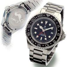 STEINHART OCEAN Forty-Four GMT BLACK Diver Watch T0212 Sapphire Swiss NEW 44mm