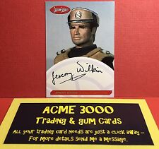 Unstoppable Gerry Anderson CAPTAIN SCARLET JEREMY WILKIN Autograph JWCO Case Top