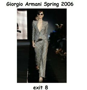 GIORGIO ARMANI main line jacket, IT46, pristine, fully lined, immaculate